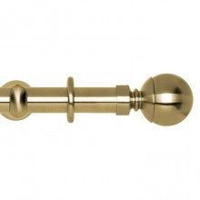 Spun Brass, Ball Finial