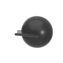 Fused Ball Black