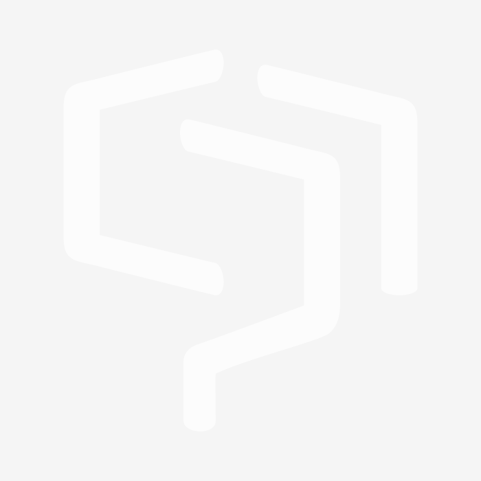 Silent Gliss White 150mm Adjustable Bracket with Cover for Tracks