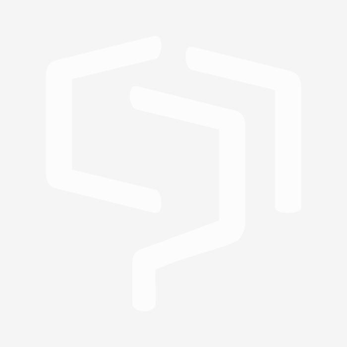Smoked Glass Pumpkin Finial - Burnished Brass