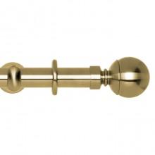 Spun Brass, Ball Finial